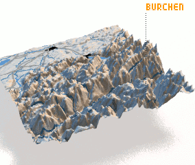 3d view of Bürchen