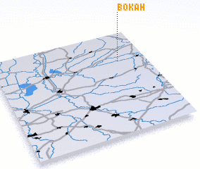 3d view of Bokah