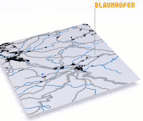 3d view of Blaumhöfen