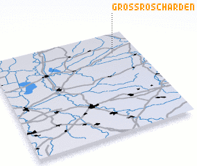 3d view of Groß Roscharden
