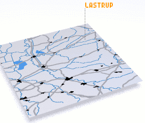 3d view of Lastrup