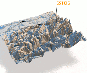 3d view of Gsteig