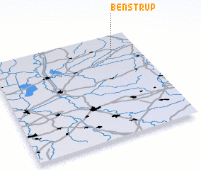 3d view of Benstrup