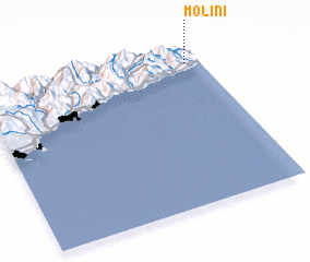 3d view of Molini