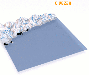 3d view of Civezza