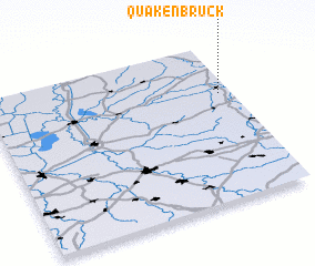 3d view of Quakenbrück