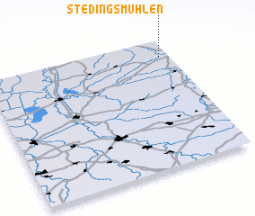 3d view of Stedingsmühlen