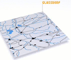 3d view of Glaßdorf