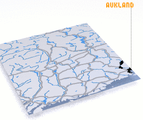 3d view of Aukland