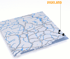 3d view of Vigeland
