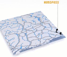 3d view of Hunsfoss