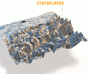 3d view of Stechelberg