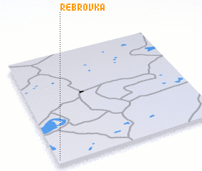 3d view of Rebrovka