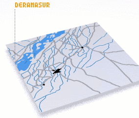 3d view of Dera Masūr