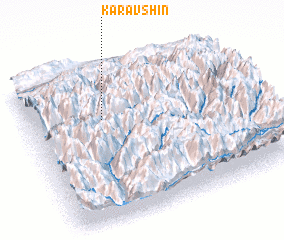 3d view of Karavshin