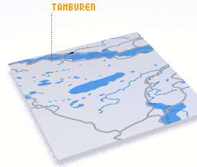 3d view of Tamburen\