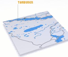 3d view of Tamburen\