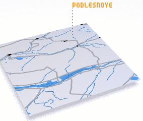 3d view of Podlesnoye
