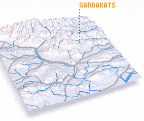 3d view of Ganda Kats