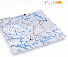3d view of Dallo Khel