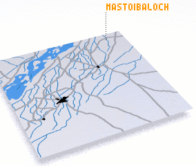 3d view of Mastoi Baloch