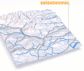 3d view of Bānda Nikki Pail
