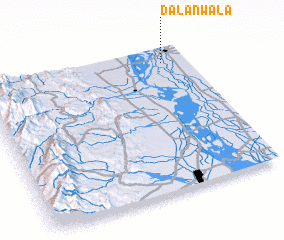 3d view of Dalanwāla