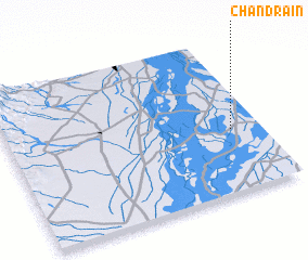 3d view of Chandrāin