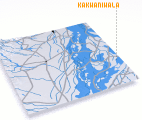 3d view of Kakwānīwāla