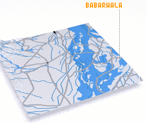 3d view of Babarwāla