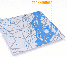 3d view of Tarkhānwāla