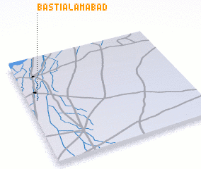 3d view of Basti Ālamābād