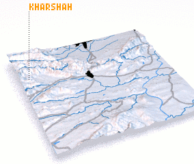 3d view of Kharshāh