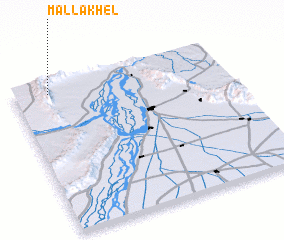 3d view of Malla Khel