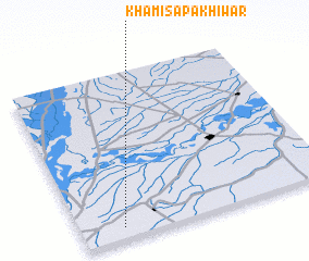 3d view of Khamīsa Pakhīwar