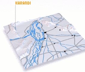 3d view of Karandi