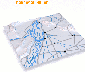 3d view of Bānda Salīm Khān