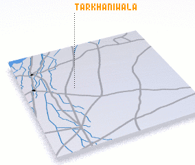 3d view of Tarkhaniwāla