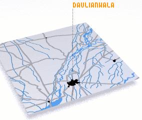 3d view of Dauliānwāla