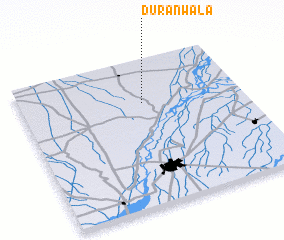 3d view of Duranwāla