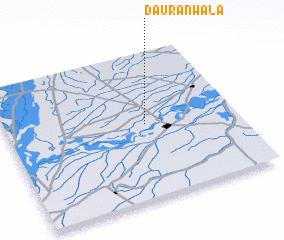 3d view of Daurānwāla