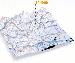 3d view of Samdād
