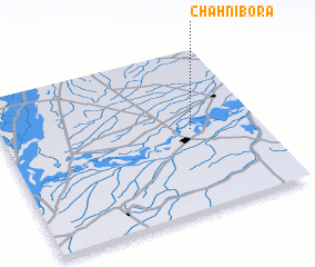 3d view of Chāh Nibora