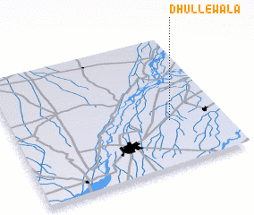 3d view of Dhullewāla