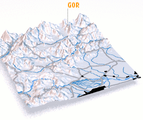 3d view of Gor