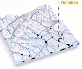 Leninabad Uzbekistan map nonanet