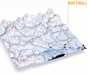 3d view of Mufti Kili
