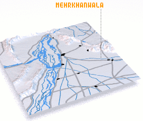 3d view of Mehr Khānwāla