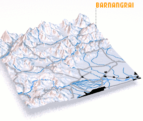 3d view of Bar Nangrai