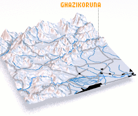 3d view of Ghāzi Korūna